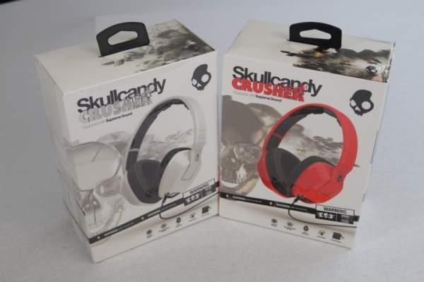 Skullcandy Crusher Headset Weiß Bügelkopfhörer mit Mikrofon-Copy