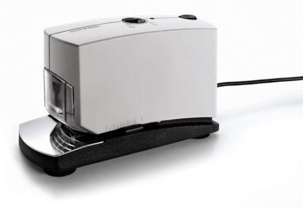 Heftapparat Elektro Novus B100-EL f. NE6 NE8 hellgrau/schwarz