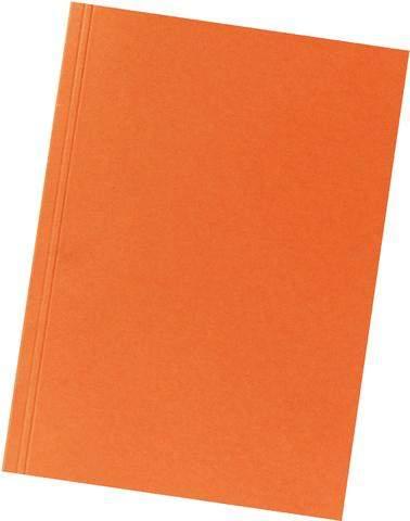 Aktendeckel Manilakarton 250g/m² A4 23x31,8cm orange / 1 St.