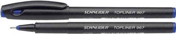 Fineliner Schneider TOPLINER 967 mit Kappe 0,4mm blau 1 St.