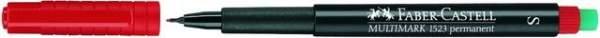 Projektionsschreiber Faber Castell S 0,4 mm rot permanent