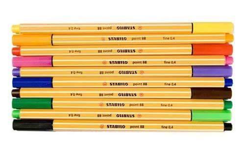 Tintenschreiber Stabilo Point 88 0,4mm dunkelblau