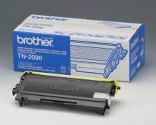Toner ORIGINAL Brother TN-2000 2.500 Seiten schwarz