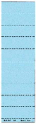 Beschriftungsschilder Leitz 1901 blanko blau 100 St.