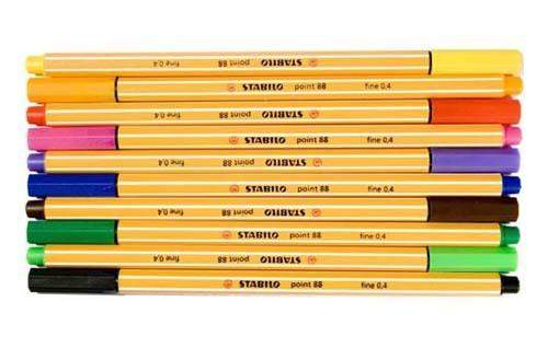 Tintenschreiber Stabilo Point 88 0,4mm hellgrün (1 Stück)