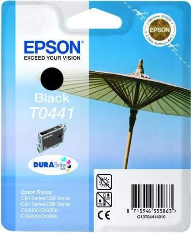 Tintenpatrone Epson C13T04414010 schwarz 13ml 600 Seiten original