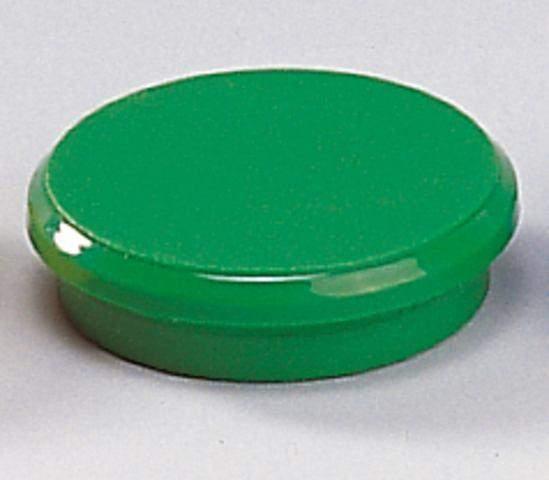 Magnete rund Ø 24mm Haftkraft 300g grün (10 Stück)