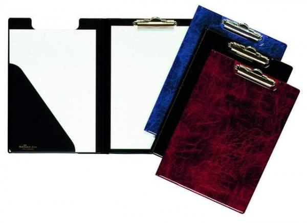 Blockmappe Klemmbrett Tasche i. Vorderteil A4 DURABLE schwarz