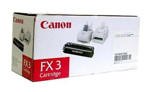 Toner Canon FX-3 schwarz 2.700 Seiten für Laserfax