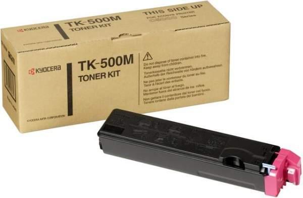 Toner Kyocera TK-500M magenta 8.000 Seiten für FS-C5016N