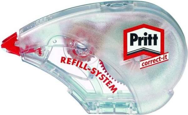 Korrekturroller Pritt 4,2mmx14m 1zeilig permanent weiß