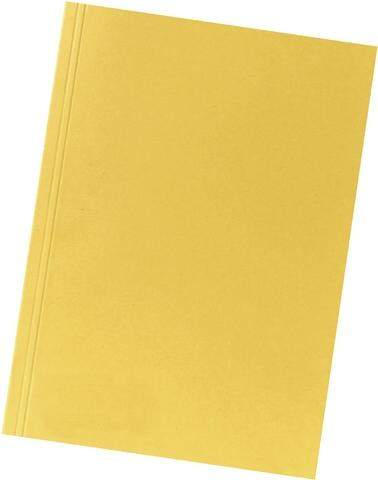 Aktendeckel Manilakarton 250g/m² A4 23x31,8cm gelb / 1 St.