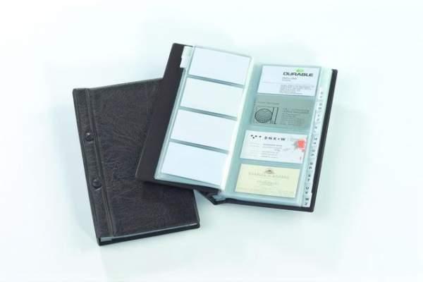 Visitenkartenringbuch Visifix 2382 Braun 145x255mm 1 St