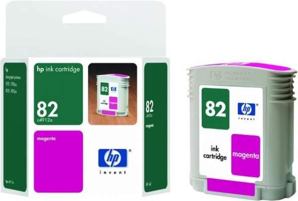 Tintenpatrone HP Nr. 82 C4912A magenta 69 ml