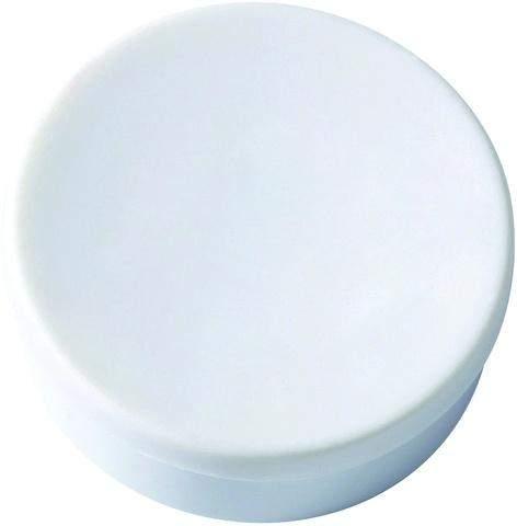 Magnet rund Ø 10mm Haftkraft 45g weiß (Pckg. á 10 Stück)
