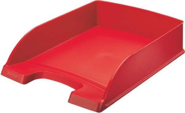 Ablagekorb Leitz 5227 Plus für A4 und Folio rot