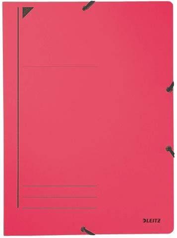 Eckspanner Leitz 3980 Karton 450g DIN A4 rot / 1 Stück