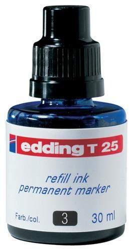 Nachfülltusche Edding T25 30 ml f. Permanentmarker blau 1 Fl.
