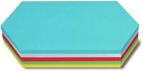 Moderationskarten Rhombus 9,5x20,5cm farbig Pckg.=250Stück