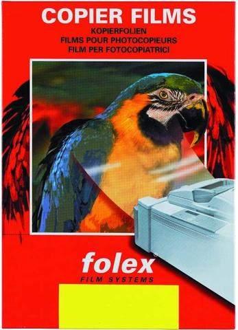 Kopierfolie + Laserfolie Folex X10.0 A4 ohne Schutzblatt (100 Blatt)