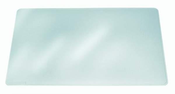Schreibunterlage DURAGLAS® Kunstoff 65x50cm farbl. transparent