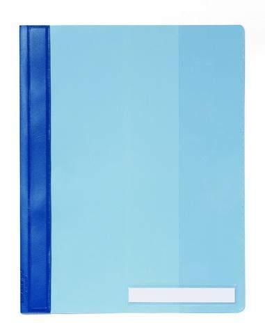 Schnellhefter Hartfolie A4 überbreit blau DURABLE / 1 St.