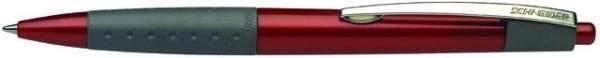 Kugelschreiber Schneider LOOX Soft-Grip-Zone rot