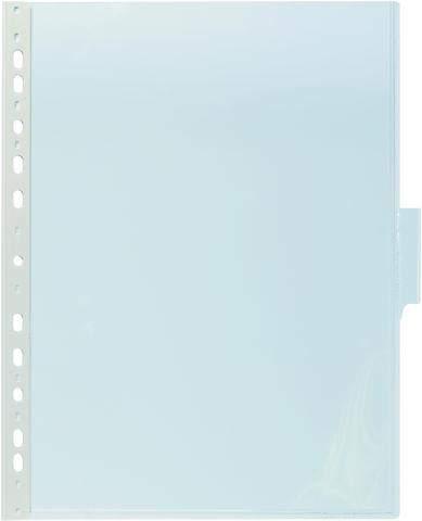 Sichttafel A4 hoch mit 60mm Tab transparent DURABLE 5 Stück