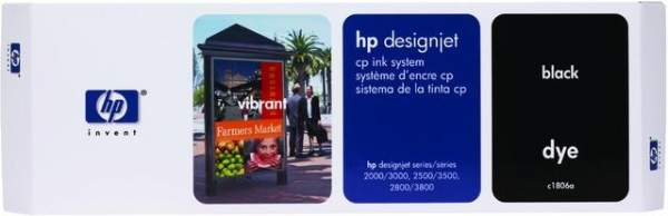 Tintenpatrone HP C1806A 410ml schwarz für HP Designjet