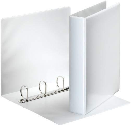 Präsentations-Ringbuch A4 4D-Ring Mechanik Ring-Ø 40mm weiß