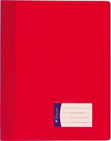 Schnellhefter PVC-Folie mit Innentasche DIN A4 rot / 1 Stück