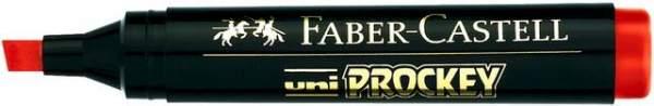 Universalmarker Uni Prockey Ksp. 3-6mm wasserfest rot Faber Castell