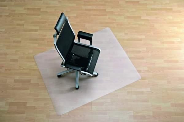 Bodenschutzmatte für harte Böden 120x110cm transluzent
