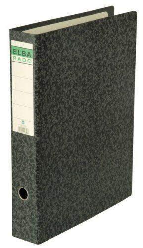 Ordner Elba 11318 DIN A3 Rücken 8cm breit Wolkenmarmor