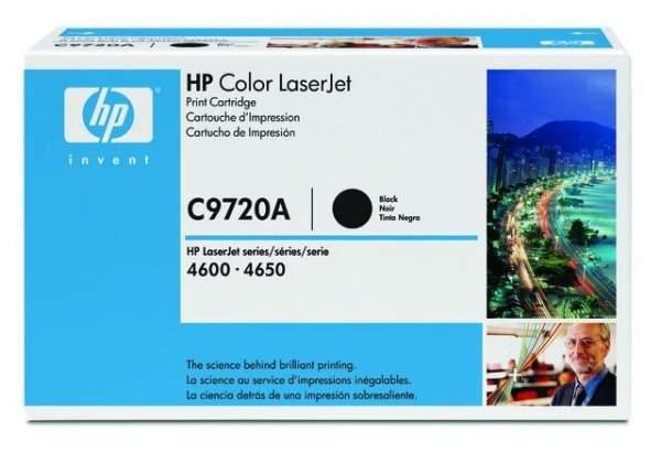 Toner HP C9720A f. HP Laserjet 4600 / 4650 9000 Seiten schwarz black