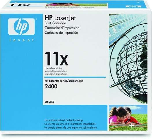 Toner HP 11X Q6511X schwarz 12.000 Seiten für Laserjet