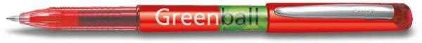Tintenkuli BEGREEN Pilot Greenball 0,5mm Schreibfarbe rot