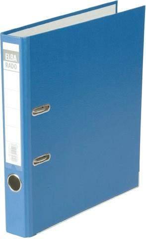 Ordner Elba Rado Brillant 10414 A4 Rückenschild einsteckbar blau 5cm schmal