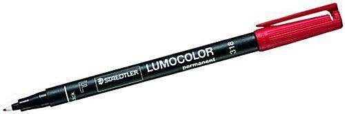 Projektionsschreiber Lumocolor 318 permanent F rot / 1 St.