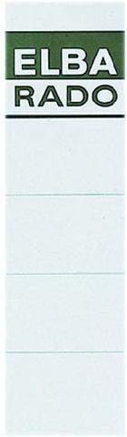 Rückenschilder Einsteck Elba 04297 159x44 weiß Btl.=10 Stück