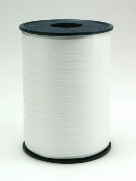 Geschenkband Ringelband 5mmx500m Weiß 601