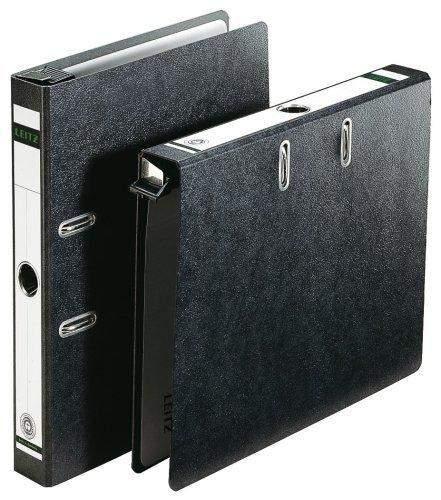 Hängeordner Leitz 1821 SK-Rückenschild A4 80mm breit schwarz