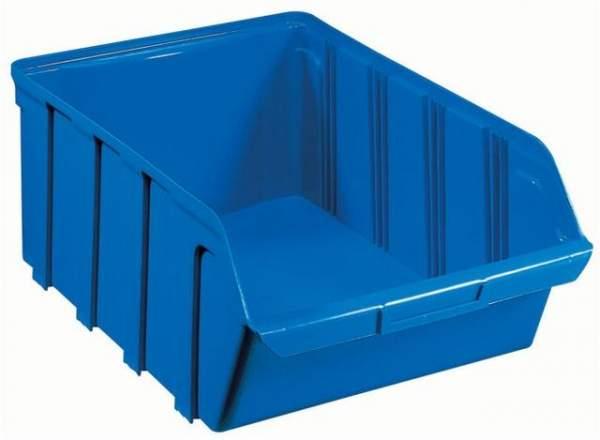 Sichtlagerkasten PP 4 Liter 230x140x125mm stapelbar blau