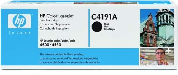 Toner HP C4191A schwarz 9.000 Seiten für HP LaserJet 4500