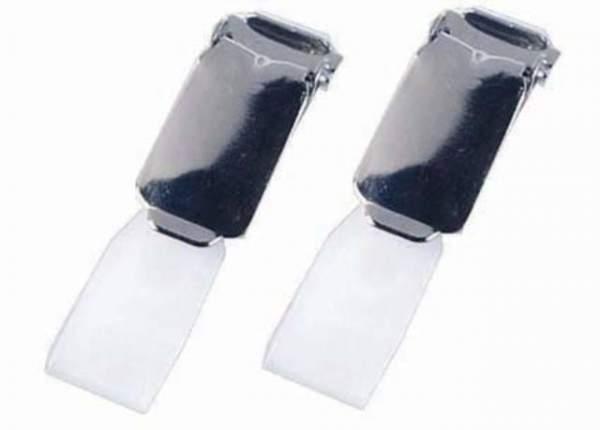 Ausweishalterclip chrom Clips für Durable Namenschild VE: 25 St.