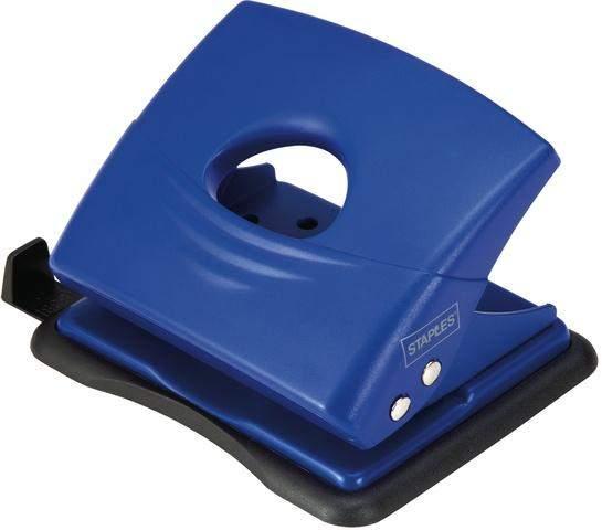 Locher mit Anschlagschiene 18 Blatt 1,8 mm blau
