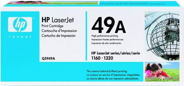Toner HP 49A Q5949A schwarz 2.500 Seiten für Laserjet