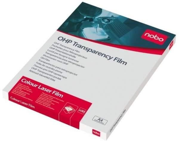 Farblaserfolie A4 0,12mm transparent einseitig beschichtet Pckg. á 50 Blatt