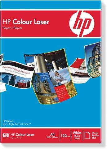 Kopierpapier Laserpapier HP Colour Laser A4 120 g/m² weiß 250 Bl