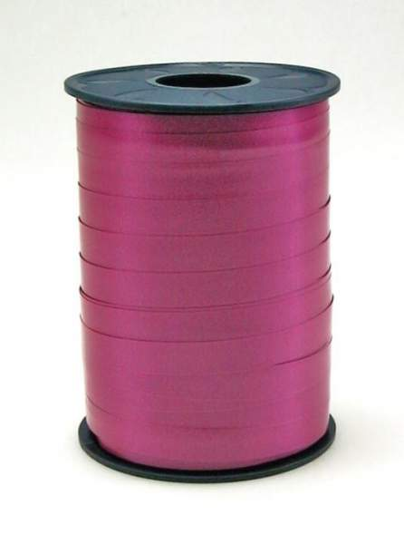 Geschenkband Ringelband 10mmx250m Pink dunkel 19